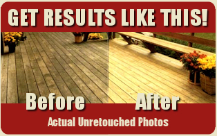 Chesterfield Michigan Deck Restoration Deck Cleaning Repair